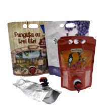 Coffee Juice Wine Liquid Bib Tap Bag in Box Dispense
