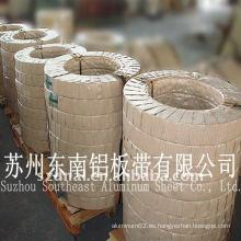 3004 correas de aluminio para el tanque de almacenaje