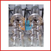 Double vis et baril en acier inoxydable pour pâte/machines alimentaires
