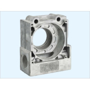 Gear Reducer kotak bagian aluminium Die Casting berlalu ISO9001