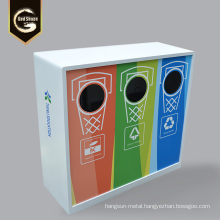 Outdoor Stainlesss Steel Trash Can