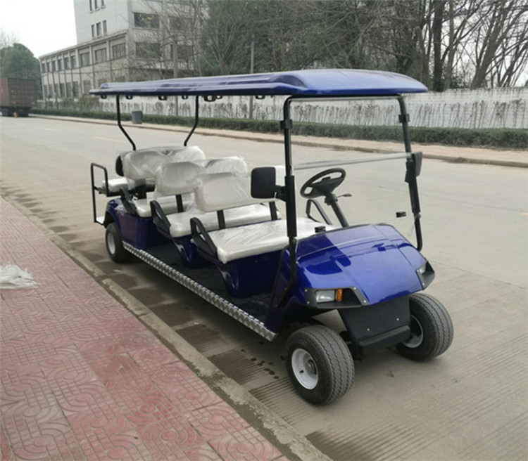 8 person electric golf car