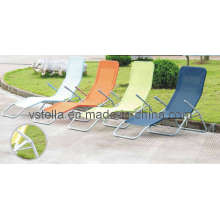 Outdoor Beach Textilene Lounger Furniture