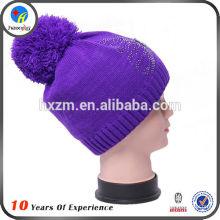 Chapeau en tricot hiver en gros