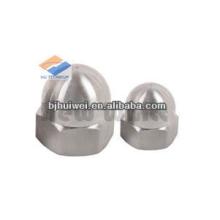 pure Titanium cap nuts