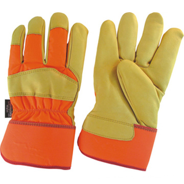 Water-Proof Cow Grain Leather Fully Thinsulate Glove--3141