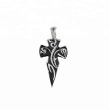 Pendentif-231 xuping fashion Bijoux en acier inoxydable Pendentif croix design gothique