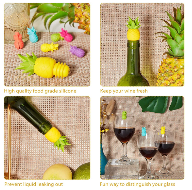 Silicone Wine Bottle Stoppers