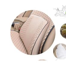 Car Back Support Pillow Lumbar Cushion Ice Silk