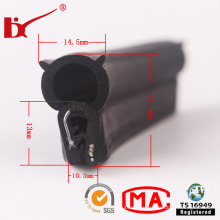 Professional EPDM Composition Rubber Seals Strip with Metal