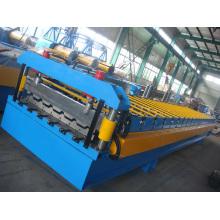 Máquina de chapa trapezoidal, zinco coberturas Máquina Perfiladeira