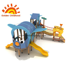 Helicopter Outdoor Playground Equipment For Children