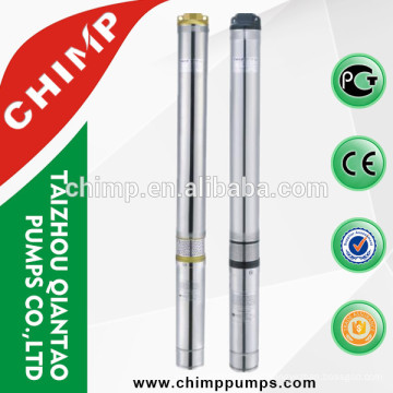 100QJ1009-1.5 irrigation Three Phase High performance brass/iron outlet deep well electric submersible pump