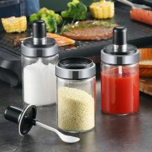Бутылка Condiment кухонных принадлежностей качества еды с совком
