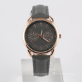 stainless steel watch back movt japan wrist watch