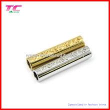 Extremidade do cabo da liga do zinco, parte de metal da forma do cilindro