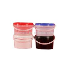 Spezifikation Kundenspezifische Behälter-Form-Farben-Eimer-Form