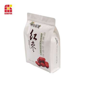 Flat bottom pouch box pouch for nuts packaging