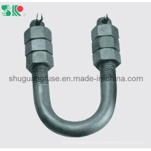 Insulator Fitting U Type Bolt with Nut