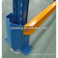 Feixe de apoio da cremalheira do metal do protetor de segurança do armazém, cerca inoxidável do aço do armazenamento