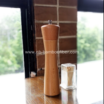 Classical Beech Wood Salt abd Pepper Mill