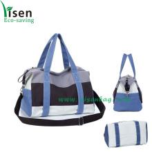 Nueva moda lienzo bolsa de viaje (YSTB03-004)