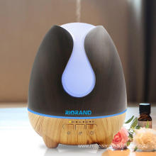 500ml  Steam Humidifier Wood Oil Diffuser Bluetooth