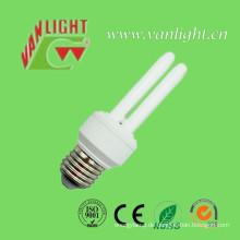 U Form Serie energiesparende Lampen CFL, (VLC-2UT3-9W-11W)