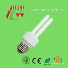 U forma série poupança de energia lâmpadas CFL, (VLC-2UT3-9W-11W)