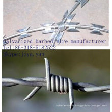 Fabricant de fil de fer barbelé galvanisé