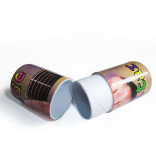 Customized Glossy Paper Tube Corrugated Box Printing Service For Gift Wrapping