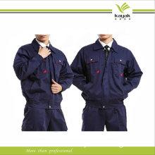 Navy Blue Long Sleeve Custom Design Antistatic Working Wear Uniform (F250)