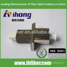 LC / UPC-MU / UPC Adaptateur fibre optique Mode unique