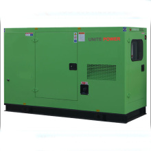 Unite Power 20kw Isuzu Soundproof Diesel Generating Set