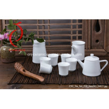 Excellent Quality Chinese Design Jingdezhen Ceramic Glazed Tea Sets 6 Cup