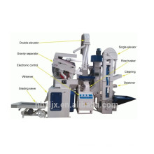 CTNM15B good looking high capacity automatic complete rice mill machine
