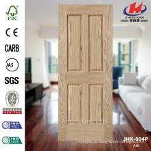 JHK-004P 3 mm de buena calidad explosión de ventas de Europa apartamento natural cenicero HDF MDF puerta de la piel
