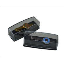 Weiche Emaille Krawatte mit Kunststoffbox
