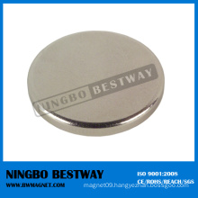 Large Coated Neodymium Disc Magnet