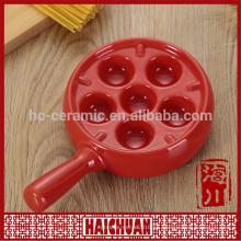 Vajilla de gres placa de cena bakeware set cerámica recubrimiento antiadherente cacerolas