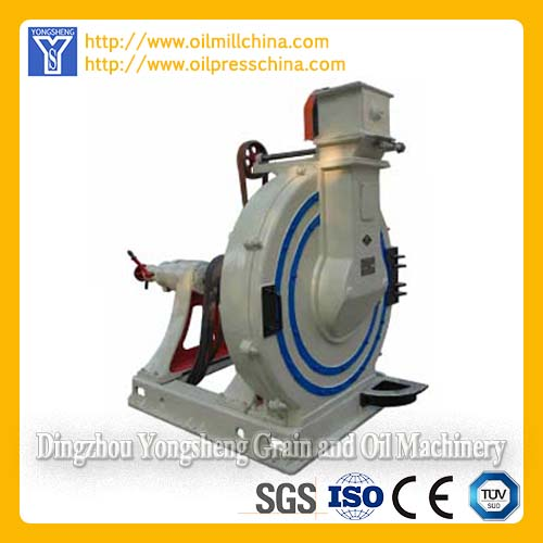 Disc decorticator Hulling machine