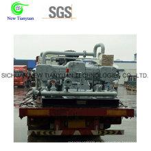 Etano / Metano China Marca Gas Pistón Boosting Compresor
