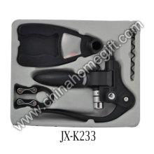 Plastic Corkscrew Set