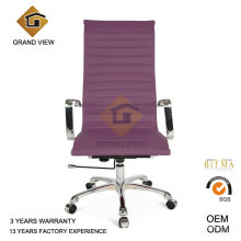 Eames Office Boss Leather Manager Chair with Purple (GV-OC-H306)