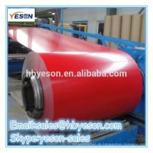 Verschiedene Farben Farbe beschichtet galvanisierte Stahl Spule Farbe Spule / verzinkte Stahlspule
