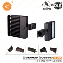 UL Dlc IP65 Estacionamento Lote Outdoor 100W LED Shoe Box Light