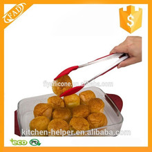 Wholesale promotional novelty silicone kitchen tong