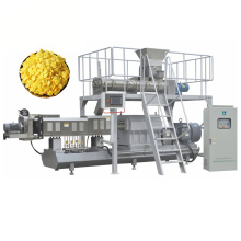 Extrusora automática de doble tornillo Corn Flakes