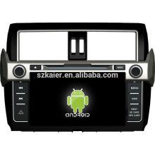 En stock ! Lecteur de dvd de voiture d'écran tactile d'Android 4.1 pour 2014 toyota prado + dual core + OEM