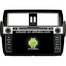 In stock ! Android 4.1 touch screen car dvd player for 2014 toyota prado +dual core +OEM